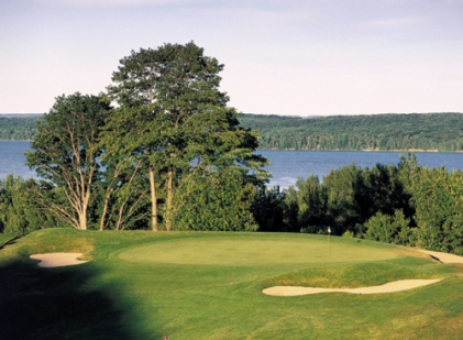 A-Ga-Ming Golf Club, Tourch,Kewadin, Michigan,  - Golf Course Photo