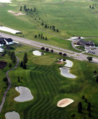 Village Green Public Golf Course,Moorhead, Minnesota,  - Golf Course Photo