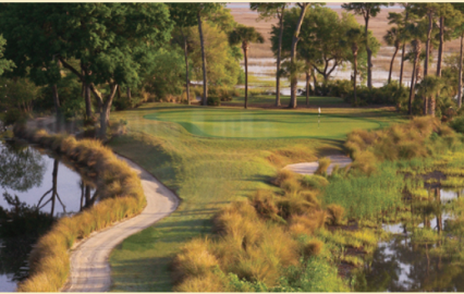Old Tabby Links,Spring Island, South Carolina,  - Golf Course Photo