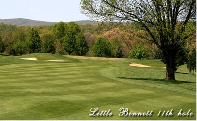 Little Bennett Golf Course,Clarksburg, Maryland,  - Golf Course Photo