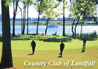 Country Club Of Landfall -Jack Nicklaus,Wilmington, North Carolina,  - Golf Course Photo