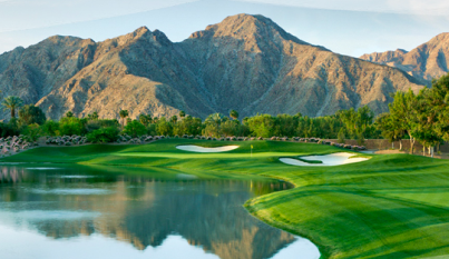 Golf Resort At Indian Wells,  Players Course,Indian Wells, California,  - Golf Course Photo