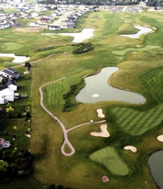 Meadows Public Golf Course,Moorhead, Minnesota,  - Golf Course Photo