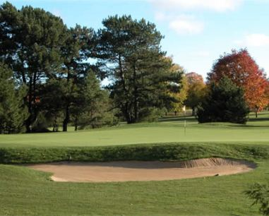 Sportsmans Country Club, Eighteen Hole,Northbrook, Illinois,  - Golf Course Photo