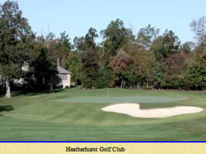 Heatherhurst Golf Course - Crag Course,Fairfield Glade, Tennessee,  - Golf Course Photo