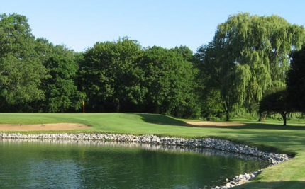 Golf Course Photo, Knollwood Club, Lake Forest, 60045