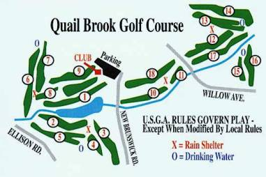 Quail Brook Golf Course, Somerset, New Jersey, 08873 - Golf Course Photo