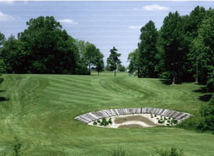 Golf Course Photo, Eagle Creek Golf Club, Pines Golf Course, Indianapolis, 46234