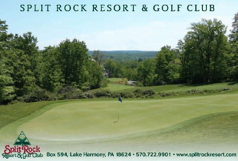 Split Rock Resort & Golf Club, North Course, Lake Harmony, Pennsylvania, 18624 - Golf Course Photo