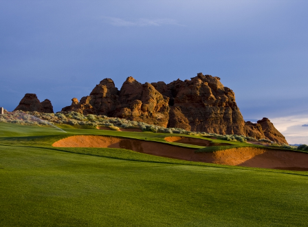Golf Course Photo, Sand Hollow Golf Resort, Championship Course, Hurricane, 84737