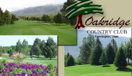 Oakridge Country Club, Farmington, Utah, 84025 - Golf Course Photo