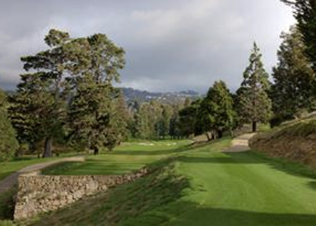 Golf Course Photo, Claremont Country Club, Oakland, 94618