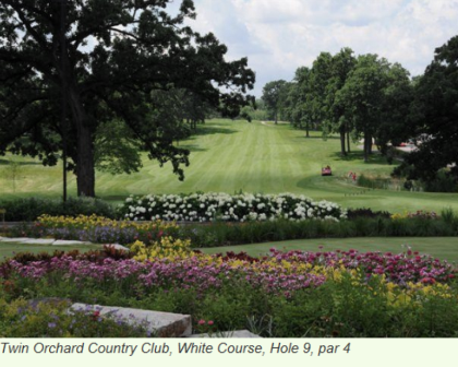 Twin Orchard Country Club, White Course,Long Grove, Illinois,  - Golf Course Photo