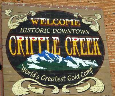 Cripple Creek Country Club, CLOSED 2005,Cripple Creek, Colorado,  - Golf Course Photo