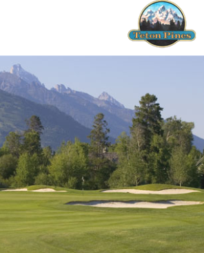 Teton Pines Country Club & Resort,Jackson, Wyoming,  - Golf Course Photo