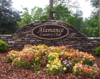 Alamance Country Club,Burlington, North Carolina,  - Golf Course Photo