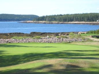 Golf Course Photo, Grindstone Neck Golf Course, Winter Harbor, 04693