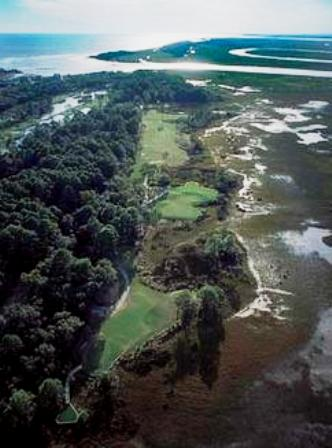 Golf Course Photo, Fripp Island Resort, Ocean Creek Course, Fripp Island, 29920