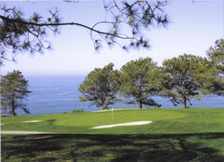 Torrey Pines Municipal Golf Course, North Course,La Jolla, California,  - Golf Course Photo