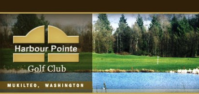 Golf Course Photo, Harbour Pointe Golf Club, Mukilteo, 98275