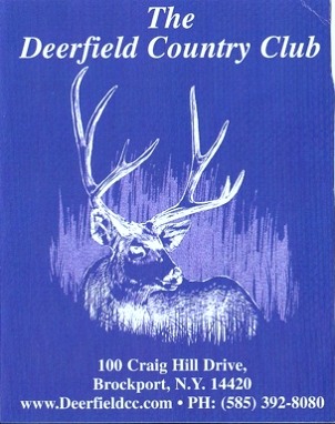 Deerfield Country Club, North-South, Brockport, New York, 14420 - Golf Course Photo
