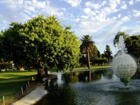 Van Nuys Golf Course, Eighteen Hole,Van Nuys, California,  - Golf Course Photo