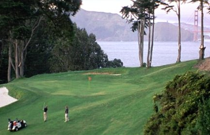 Lincoln Park Golf Course,San Francisco, California,  - Golf Course Photo