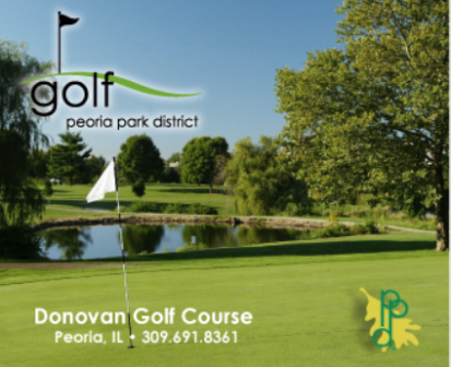 Leo Donovan Golf Course, CLOSED 2014,Peoria, Illinois,  - Golf Course Photo