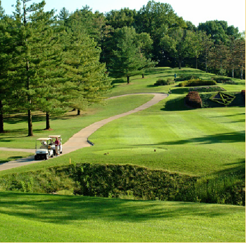 Golf Course Photo, Forest Hills Country Club, Championship Course, Chesterfield, 63005
