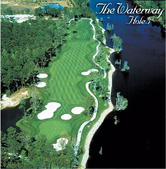 Golf Course Photo, Arrowhead Country Club -Lakes-Waterway, Myrtle Beach, 13052