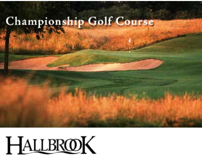 Golf Course Photo, Hallbrook Country Club, Leawood, 66211