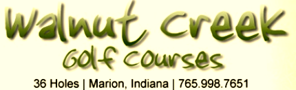 Walnut Creek Golf Course, Walnut Creek,Marion, Indiana,  - Golf Course Photo