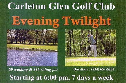 Golf Course Photo, Carleton Glen Golf Club, Carleton, 48117
