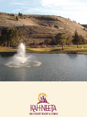 Kah-Nee-Ta Resort,Warm Springs, Oregon,  - Golf Course Photo