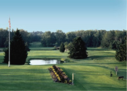 Golf Course Photo, Riverwood Golf Course & Resort -Red-White, Mount Pleasant, 48858