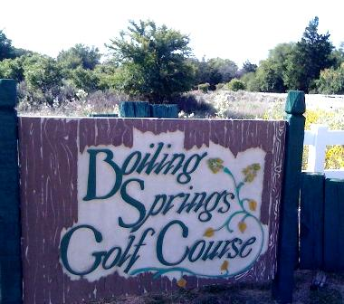 Boiling Springs Golf Course,Woodward, Oklahoma,  - Golf Course Photo