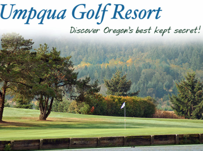 Golf Course Photo, Umpqua Golf and RV Resort, Sutherlin, 97479