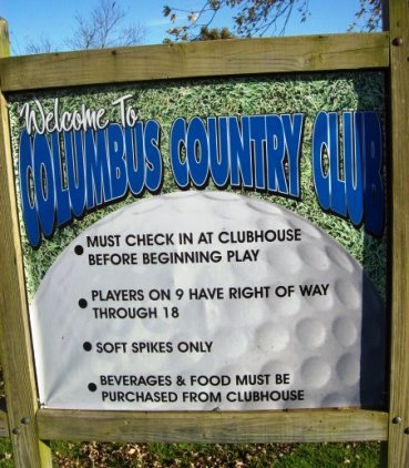 Columbus Country Club,Columbus, Kansas,  - Golf Course Photo