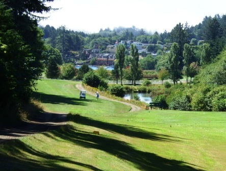 Chinook Winds Golf Resort, Chinook Golf Course,Lincoln City, Oregon,  - Golf Course Photo