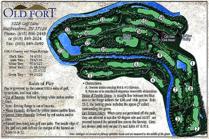 Old Fort Golf Club,Murfreesboro, Tennessee,  - Golf Course Photo