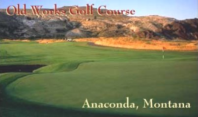 Old Works Golf Course -Little Bear,Anaconda, Montana,  - Golf Course Photo