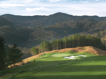 Sequoyah National Golf Club,Whittier, North Carolina,  - Golf Course Photo