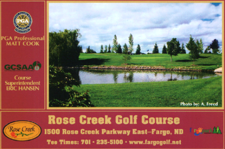Rose Creek Golf Course,Fargo, North Dakota,  - Golf Course Photo