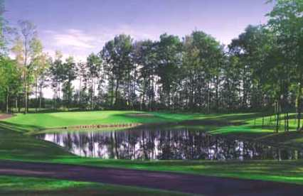 Turtleback Golf Course,Rice Lake, Wisconsin,  - Golf Course Photo