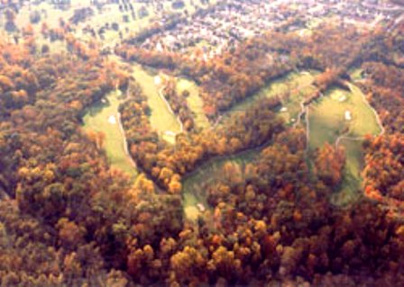 Golf Course Photo, Cascades Municipal Golf Course, Bloomington, 47404