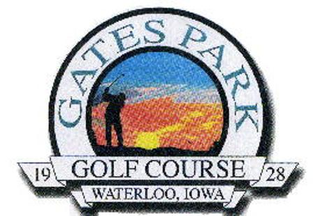 Gates Park Municipal Golf Course,Waterloo, Iowa,  - Golf Course Photo