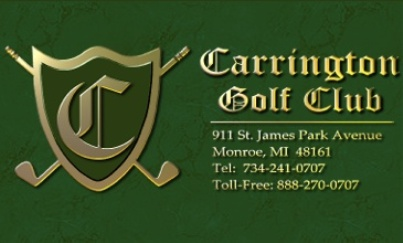 Carrington Golf Club,Monroe, Michigan,  - Golf Course Photo
