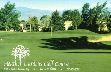 Heather Gardens Golf Course, Aurora, Colorado, 80014 - Golf Course Photo