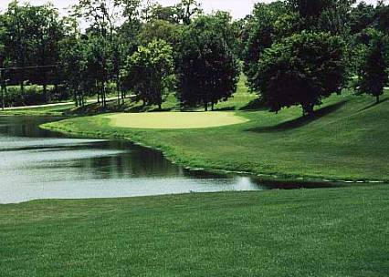 Golf Course Photo, Brook Hill Golf Club, Brookville, 47012