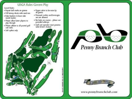 Penny Branch Club,Furman, South Carolina,  - Golf Course Photo